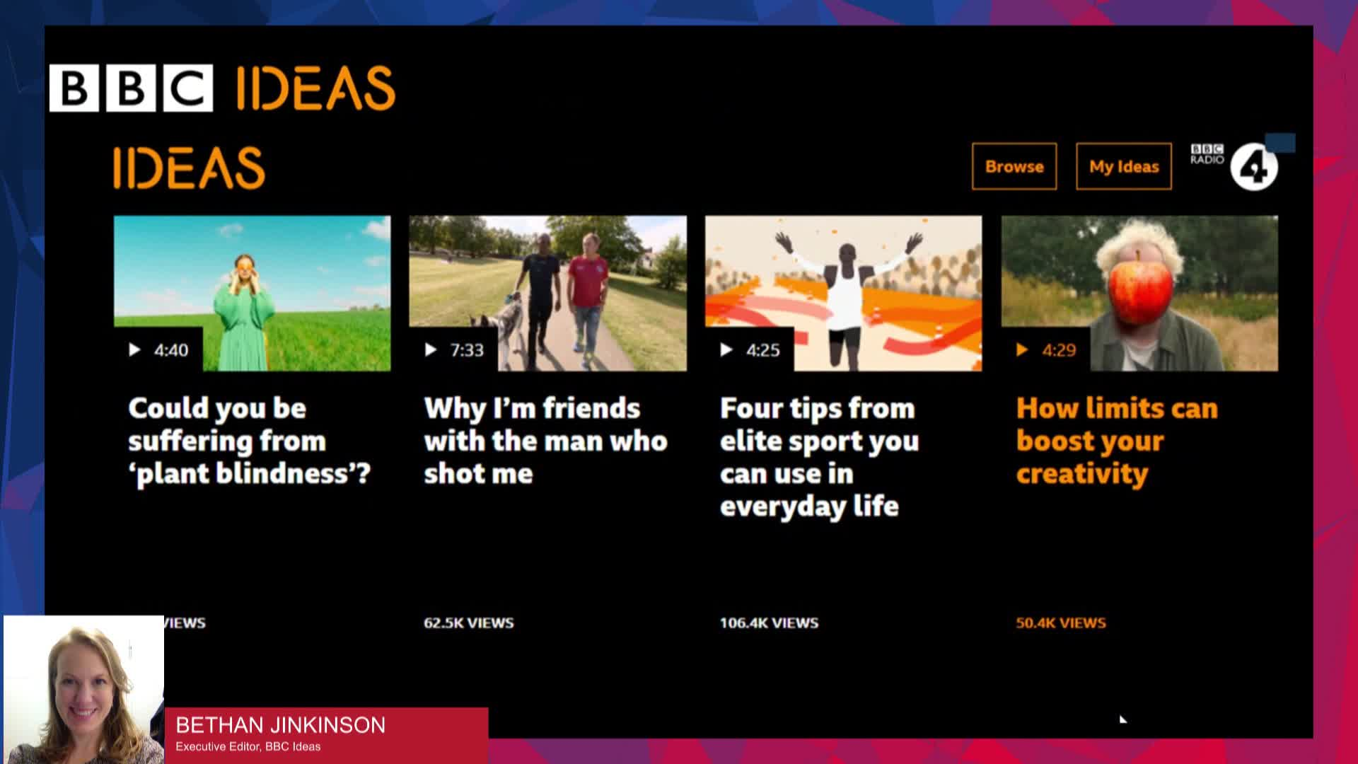 Exploring not Explaining - Reaching New Audiences the BBC Ideas Way