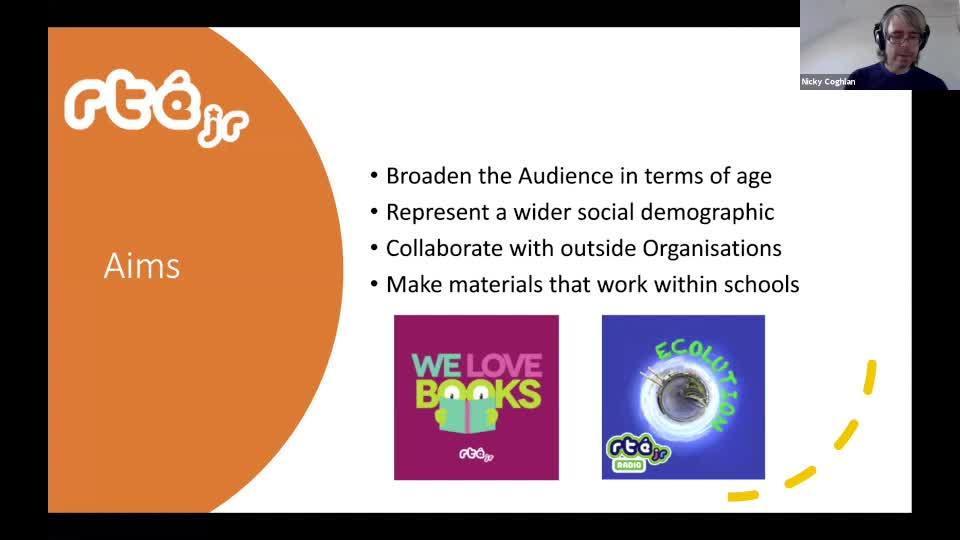 EBU Kids Thematic Webinar - Audio Innovation for Kids