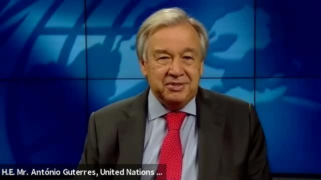 Conversation with UN Secretary General António Guterres