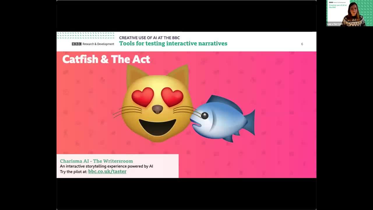 Creative Use of AI at the BBC