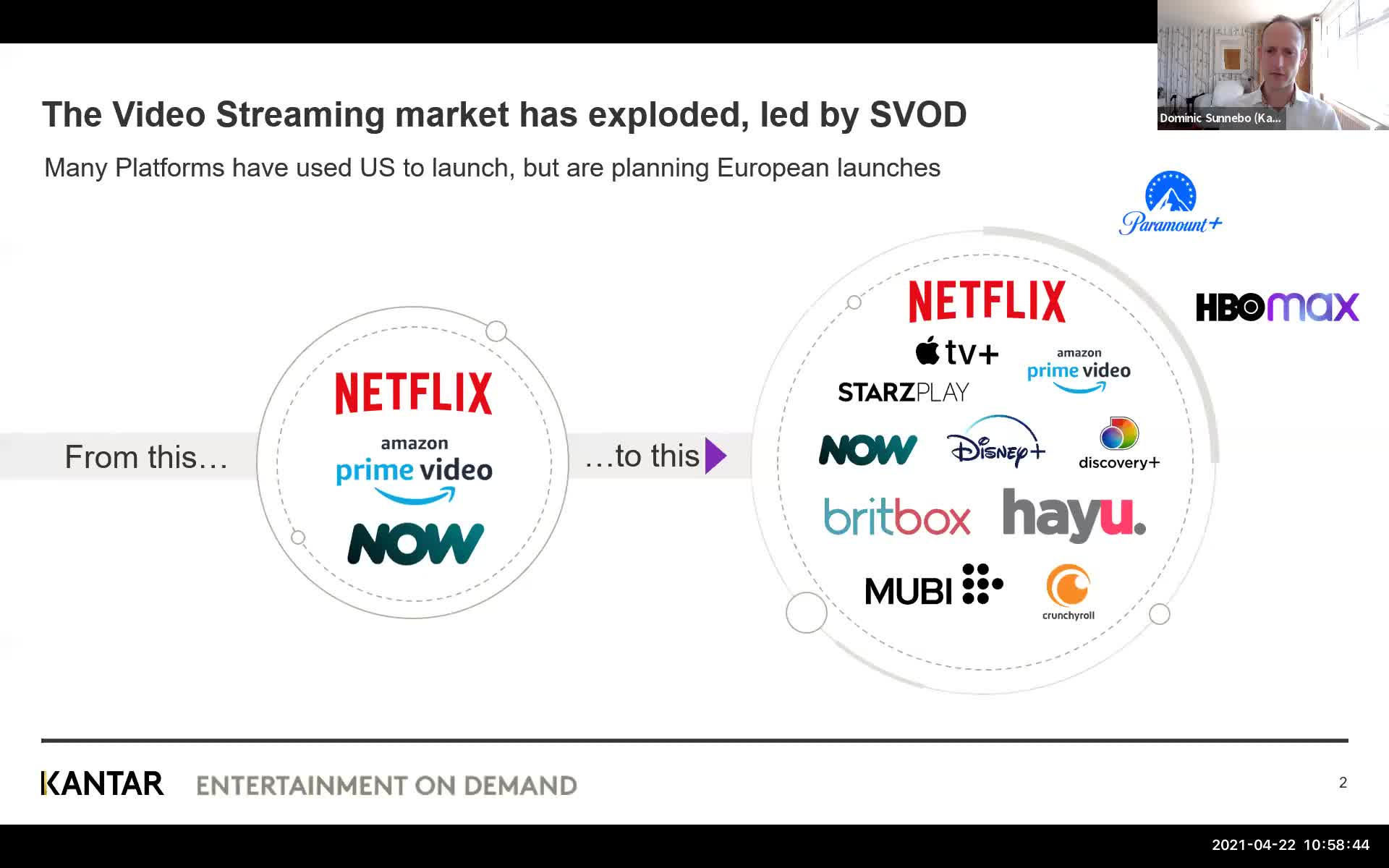 The Agile Streamer and the SVOD Explosion