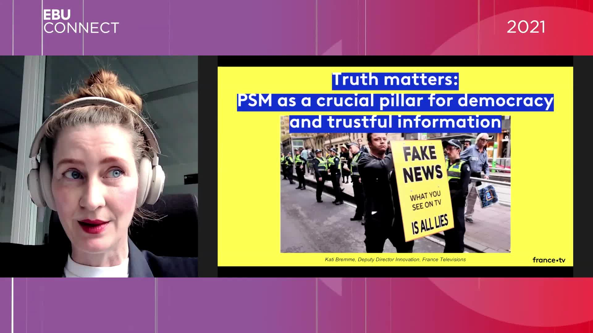 Truth Matters: Public service media as a crucial pillar for democracy and trustful information