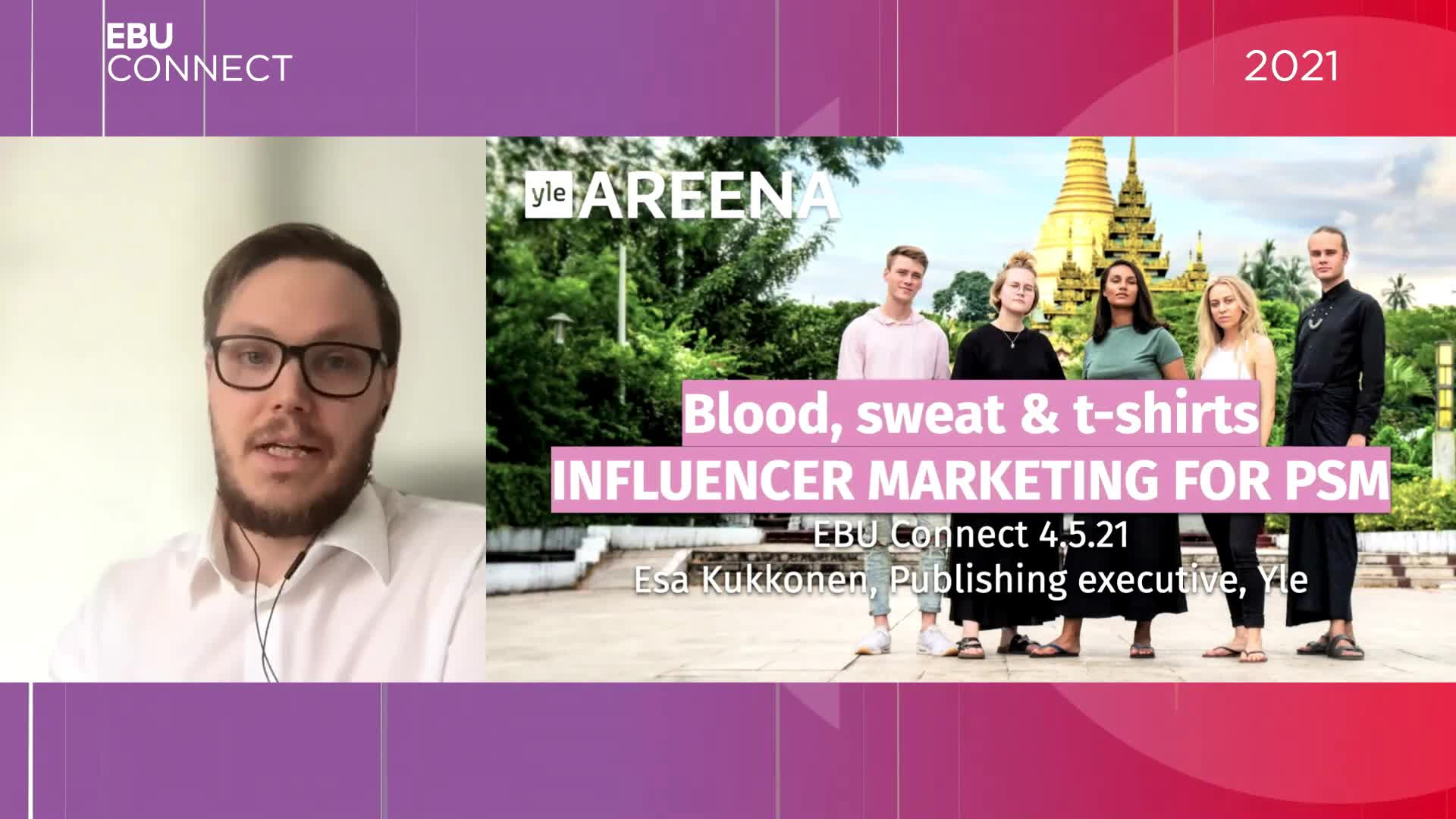 Blood, Sweat and T-shirts: Influencer marketing for public service media