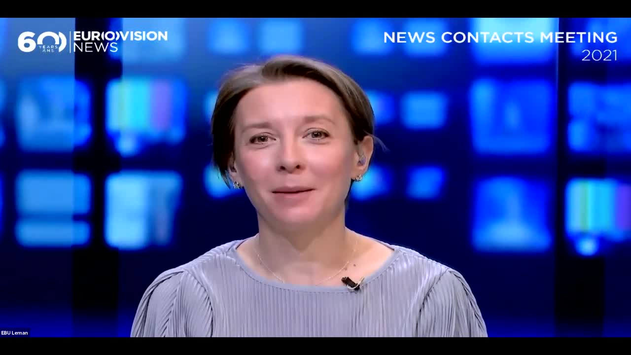 Meet the new Senior Editor of the Eurovision News Exchange