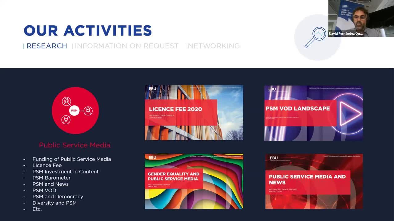 Atelier de présentation du service d'Analyse médias (MIS)