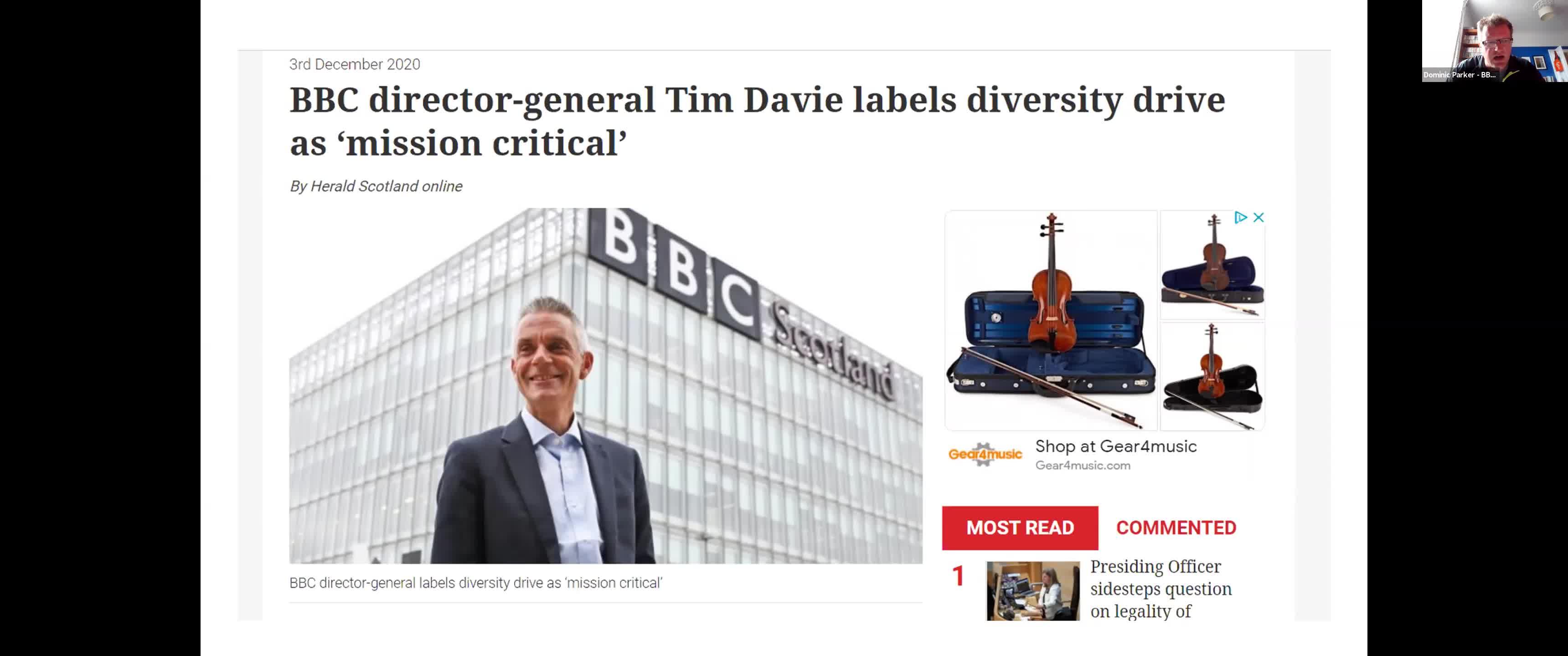 Diversity – 'Mission Critical'
