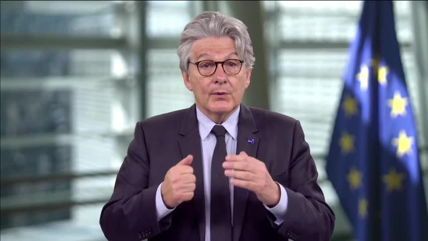 Allocution d'ouverture du commissaire européen Thierry Breton